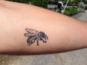 Jamie arm tattoo
