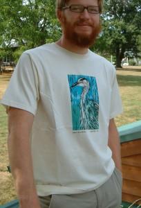 Great Blue Heron modeled