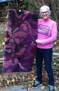 "Melinda with ""Purple Loosestrife"" from Maryland"
